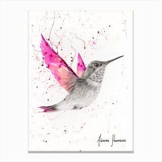 Magetna Rose Bird Canvas Print