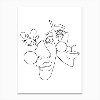 Aila Canvas Print