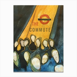 The Commute Bowels Of The Labyrinth Canvas Print