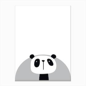 Panda Nursery Canvas Print