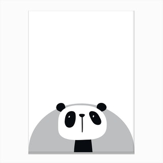 Panda Nursery Canvas Print
