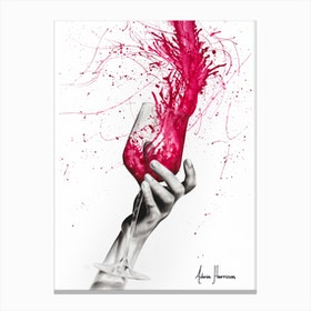 Wine Night Canvas Print