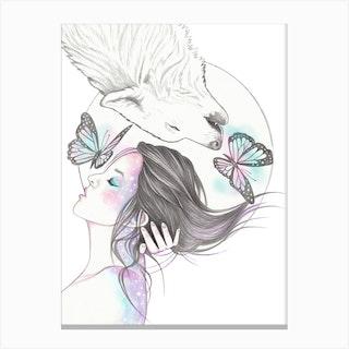 Soul Sisters Canvas Print