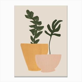 Planted Canvas Print