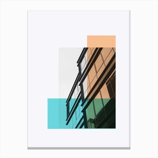 Bauhaus Building B Canvas Print