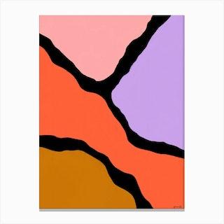 Colorful Shapes Canvas Print