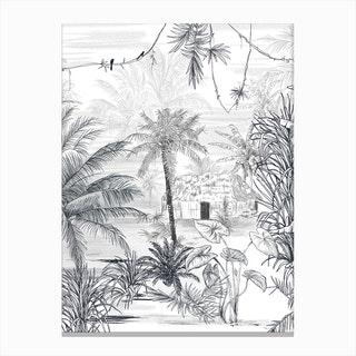 Rainforest  I Canvas Print