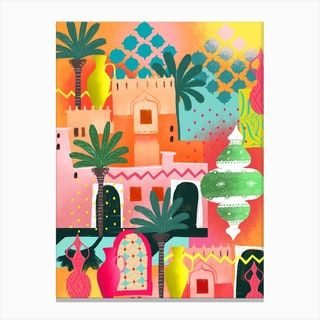 Morocco Afternoon Canvas Print