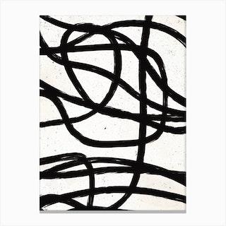 Scandinavian Marker Line 3 Canvas Print