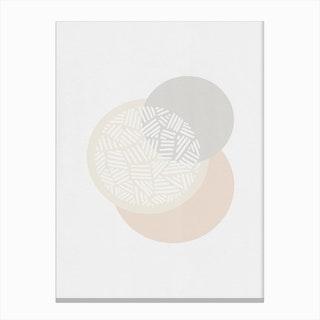 Minimalist Geometric I Canvas Print