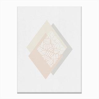 Minimalist Geometric III Canvas Print