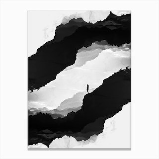 White Isolation Canvas Print