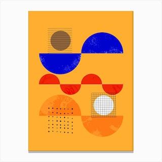 Playful Mood Abstract No2 Canvas Print