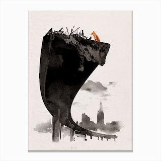 Last Of Us Canvas Print