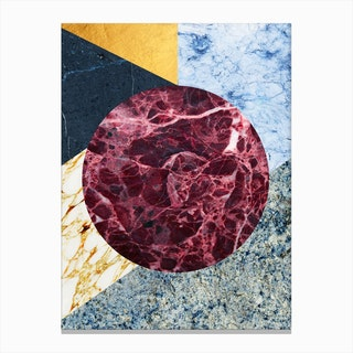 Marble Ecstasy In Canvas Print
