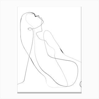 Kroki Canvas Print