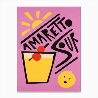 Amaretto Sour Canvas Print