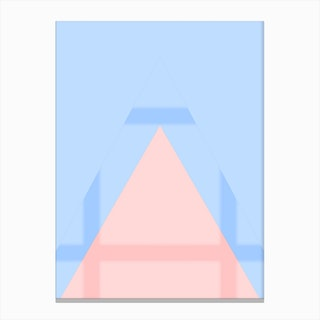 Pink Mountain IV Canvas Print