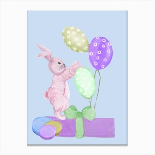Sweet Easter Gifts Canvas Print