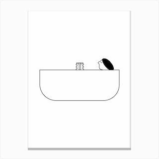 Have A Bath Canvas Print