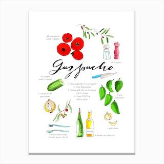 Gazpacho Canvas Print