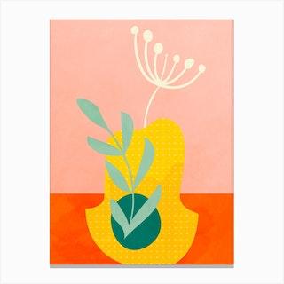 Minimal Lines3 Canvas Print