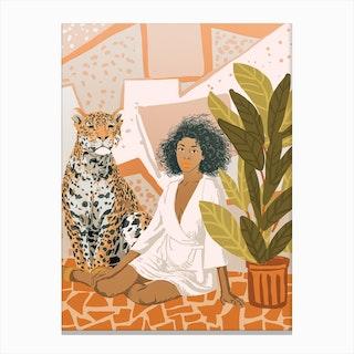 House Guest Canvas Print