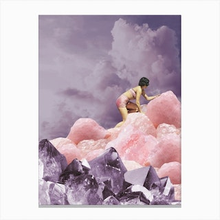 Crystal Obsession Canvas Print