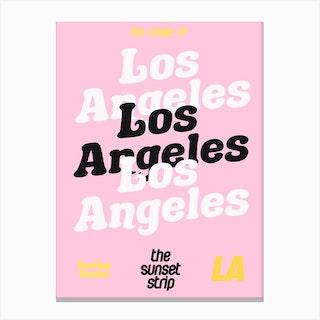 Los Angeles 2 Canvas Print