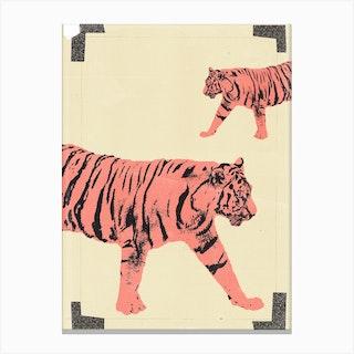 Animals Tiger Canvas Print