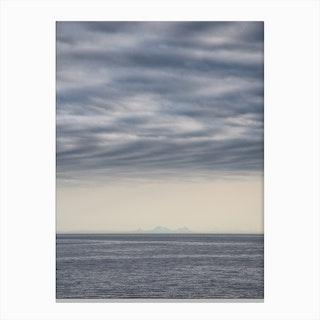 Lets meet at the Horizon 2 Canvas Print