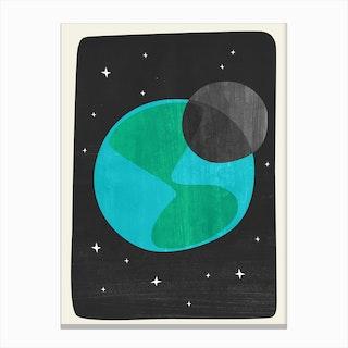 Earth II Canvas Print