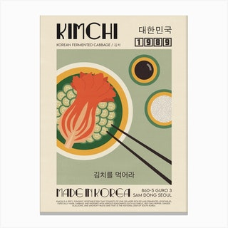 The Kimchi Canvas Print