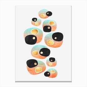 Tropical Pebbles Canvas Print