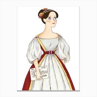 Ada Lovelace Canvas Print