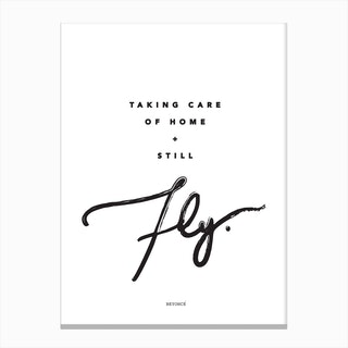 Beyonce Quote Canvas Print