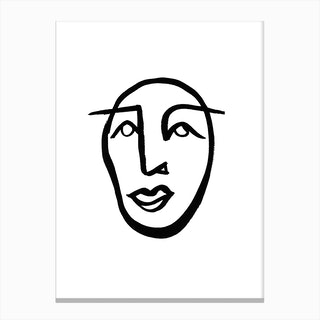 Faces 2 Canvas Print