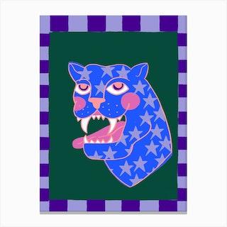 Stars Panther Cdpi Canvas Print