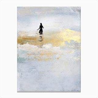 Sun Dip Canvas Print