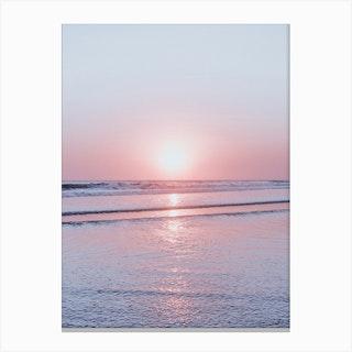 Bali Sunset V Canvas Print