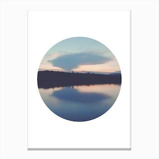 Circular Reflection Canvas Print