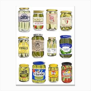 Pickles Canvas Print