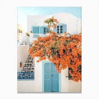 Oia Santorini Canvas Print