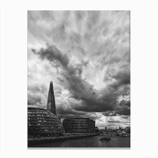 London Sky Canvas Print