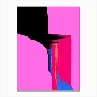 Valley Pink Canvas Print