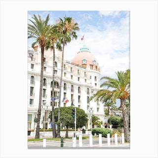 Riviera Palms Canvas Print