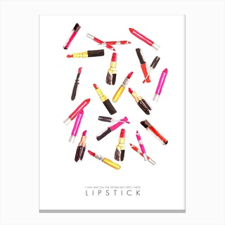 Lipstick World Canvas Print