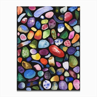 Jelly Bean Canvas Print
