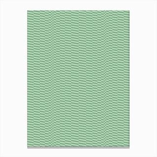 Glitchwaves 5 Canvas Print