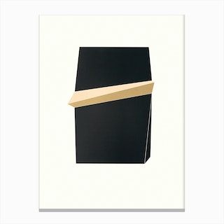 Black Gold III Canvas Print